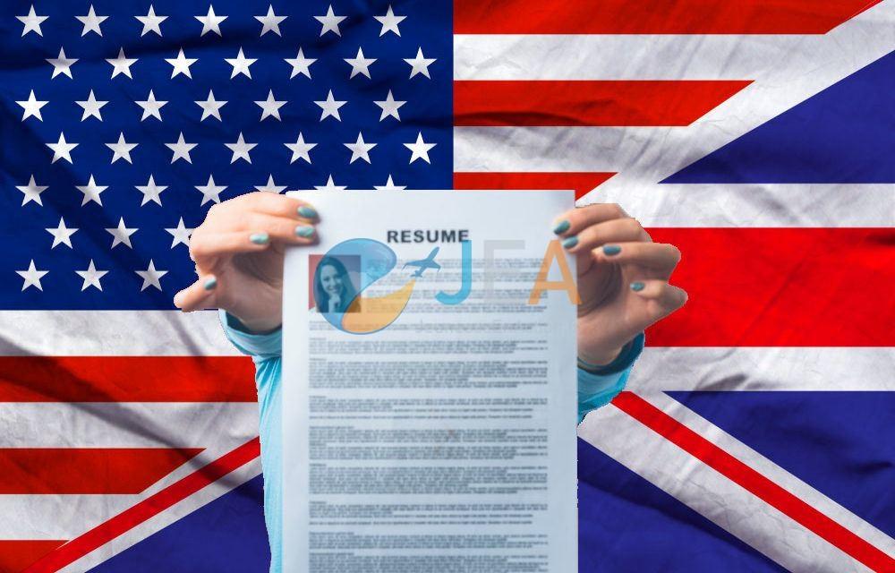 Les différences entre un CV anglais et un CV américain