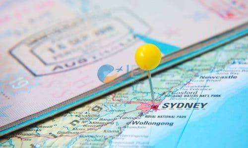 visa stage Australie